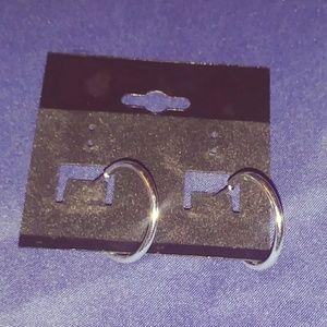 Jewelry - Silver Hoop Earrings 2.0 cm